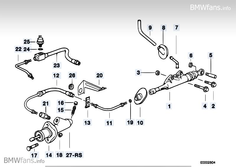 e36 m3 und e34 m5 drucksensor kupplung        3er bmw