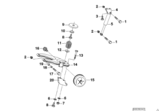 Trailer, indiv. parts, wheel suspension