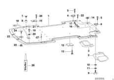 Trailer, indiv. parts, floor assembly