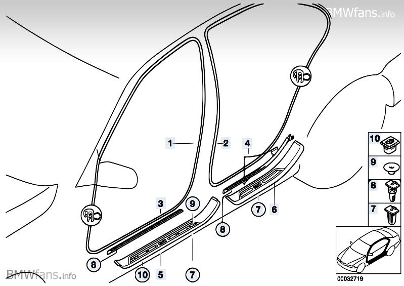 [BMW 520 d E39] Fuite d'eau importante aux portes arrières MzI3MTlfcA==