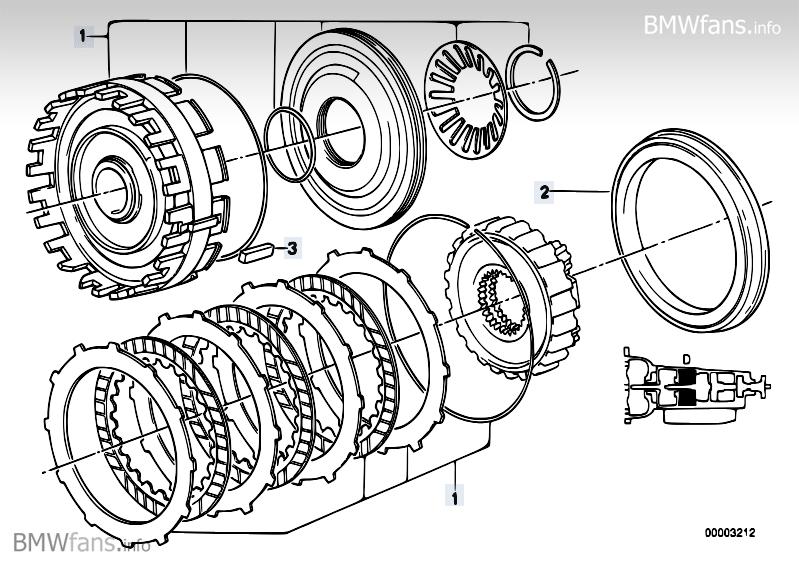24 Brake Clutch D Bmw 3 E30 318i M10