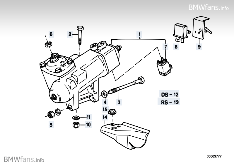 bmw servotronic wiring diagram