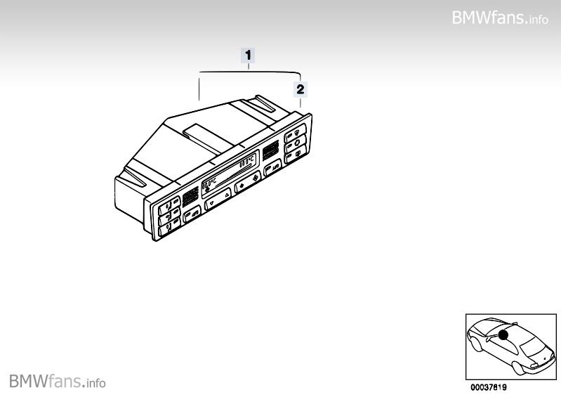 blende klimabedienteil e46 interieur bmw e46 forum. Black Bedroom Furniture Sets. Home Design Ideas