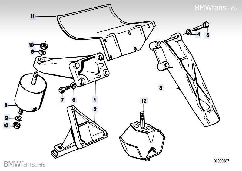 E28 M5 Motorrubbers