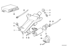 Steering column-elec.adjust./singl.parts