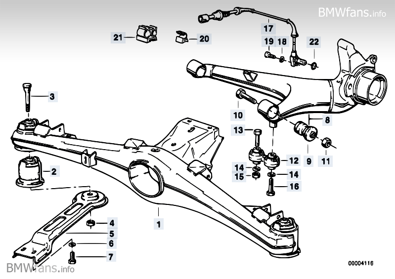 Trailing arm link question