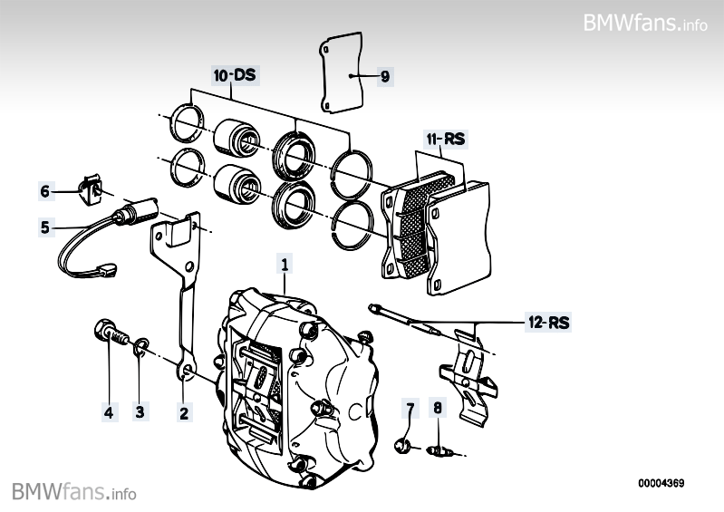 early e24 suspension and e12 h u0026r springs