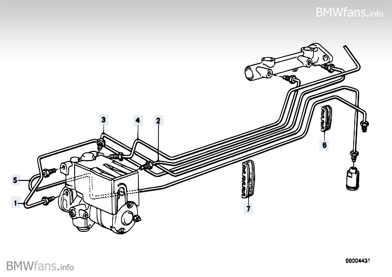 Abs Brake Pipes Diagram Wrong