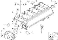 51458266814 furthermore Bmw E36 Transmission Diagram likewise Placement Of Engine Wiring Harness 2002 Bmw X5 3 0 as well Automatic Transmission further Fuel Filter Preheating Valve. on bmw e46 automatic transmission