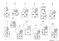Various relays