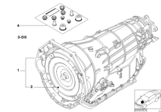 Automatic gearbox A5S560Z