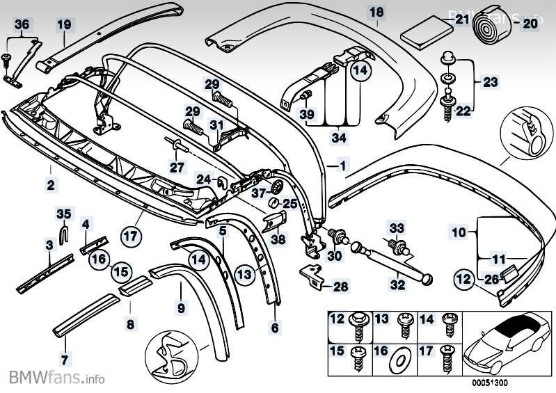 BMW Z3 Parts Diagram Wiring Detailed E36 M3: BMW M62 Wiring Diagram At Johnprice.co