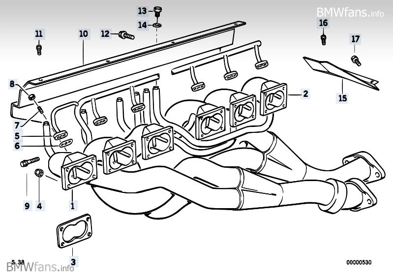 [BMW M5 3.6 L E34] Huile coule sur collecteur d'échappement NTMwX3A=