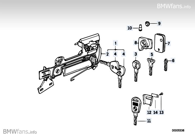 1990 Bmw Keyfob