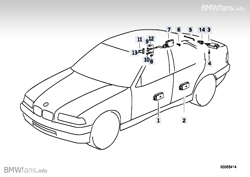 bmw e36 central locking system schematic  bmw  free engine
