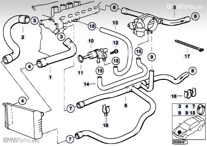 Common Coolant Leak Areas