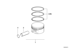 Crankshaft-Pistons