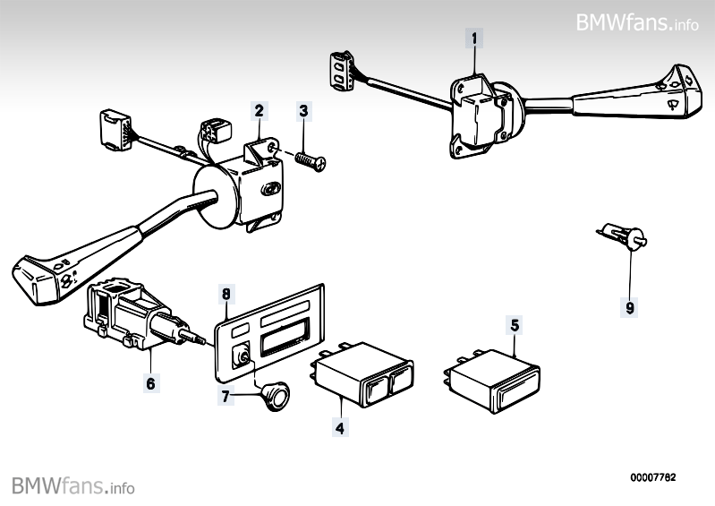 bmw e30 turn signal wiring diagram  wiring diagram