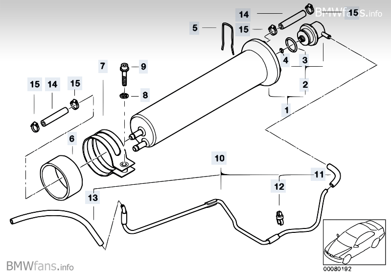 might we be able to list, with pics (realoem diagrams ok) of all e39 vacuum  lines? - bimmerfest - bmw forums