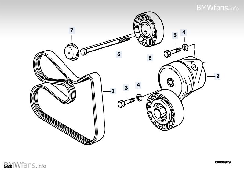 umbau auf hydraulischen riemenspanner   3er bmw