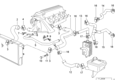 Ford 54 Triton Engine Diagram together with Vehicle moreover Bmw X3 Coolant Sensor Location furthermore Bmw E 46 Models Parts Basic For Model additionally Vacum Control Engine Turbo Charger. on e46 cylinder head