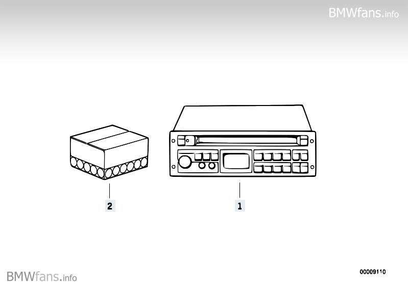 radio bavaria electronic cd ii bmw 3 u0026 39  e36  318is  m42