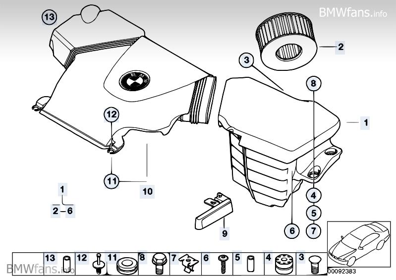 et jeblik i livet af rytteren bmw e46 n42 luftfilter. Black Bedroom Furniture Sets. Home Design Ideas